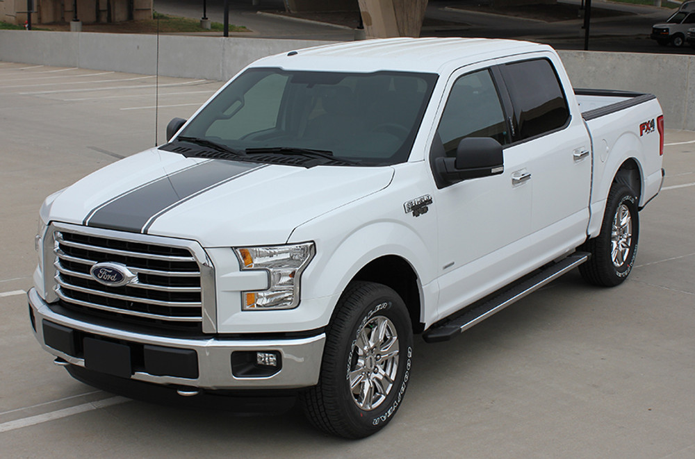 2009 2017 Ford F 150 Center Vinyl Racing Stripes Graphic