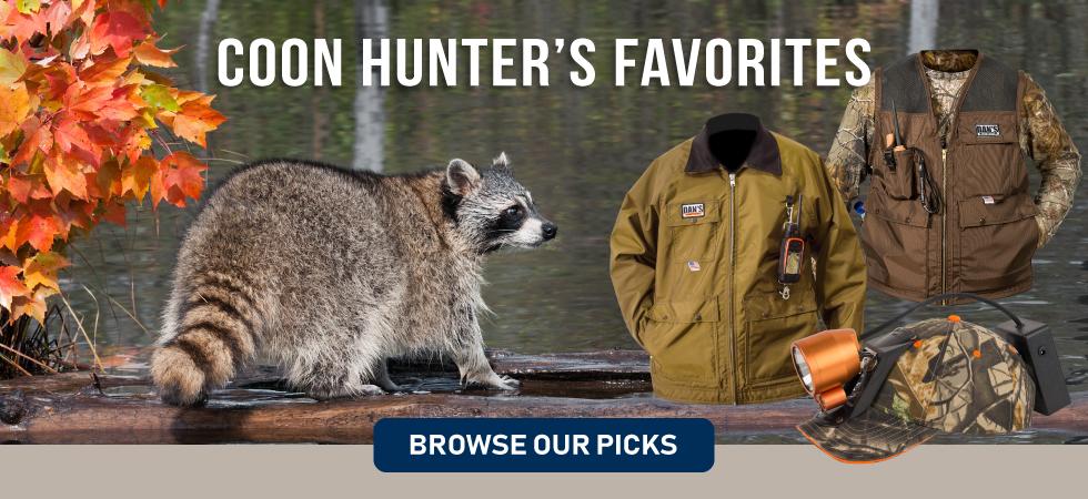 Coon hunters favorite gear