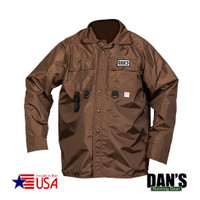 Brown Briarproof Shirt with Mesh Liner