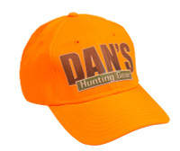Dan's Briarproof Orange Cap with Dan's Hunting Gear | Circle G Hunting Store