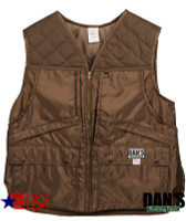 Brown Briarproof Game Vest by Dan's Hunting Gear | Circle G Hunting Store