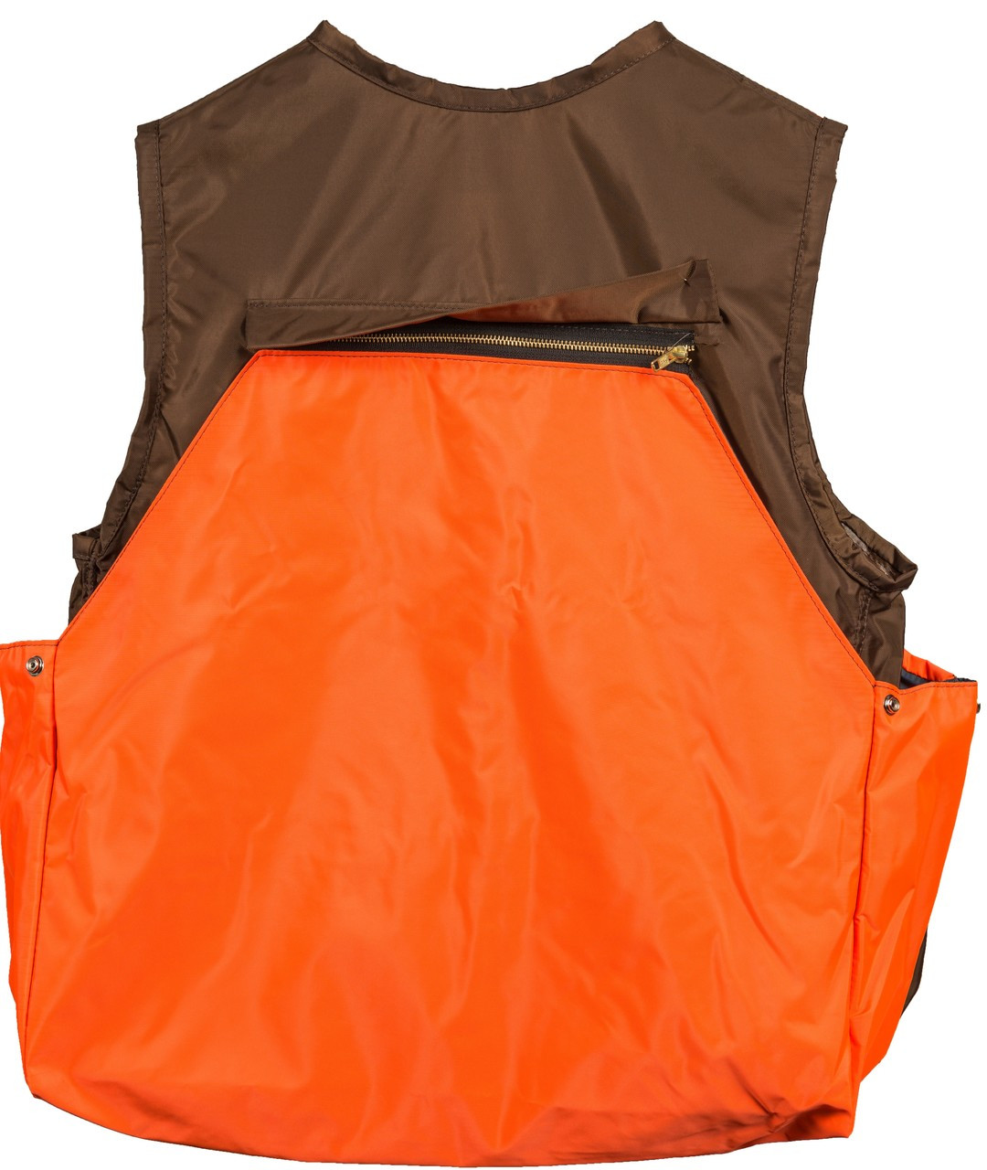 Brown and Orange Briarproof Game Vest Back by Dan's Hunting Gear | Circle G Hunting Store