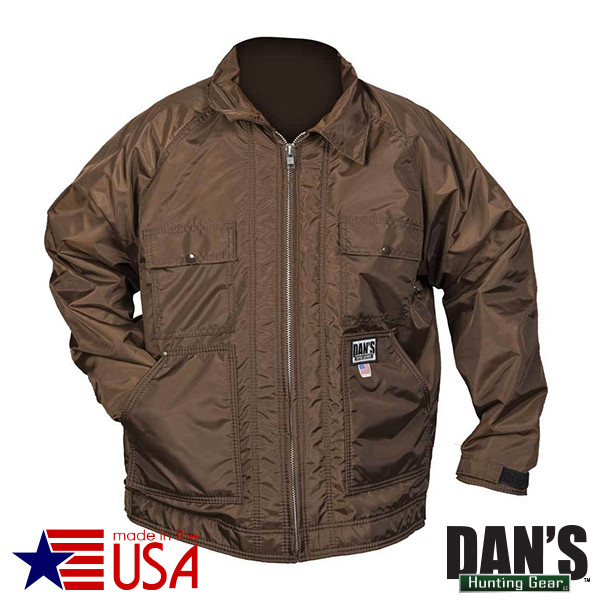 Brown Sportsman's Choice Briarproof Coat by Dan's Hunting Gear | Circle G Hunting Store