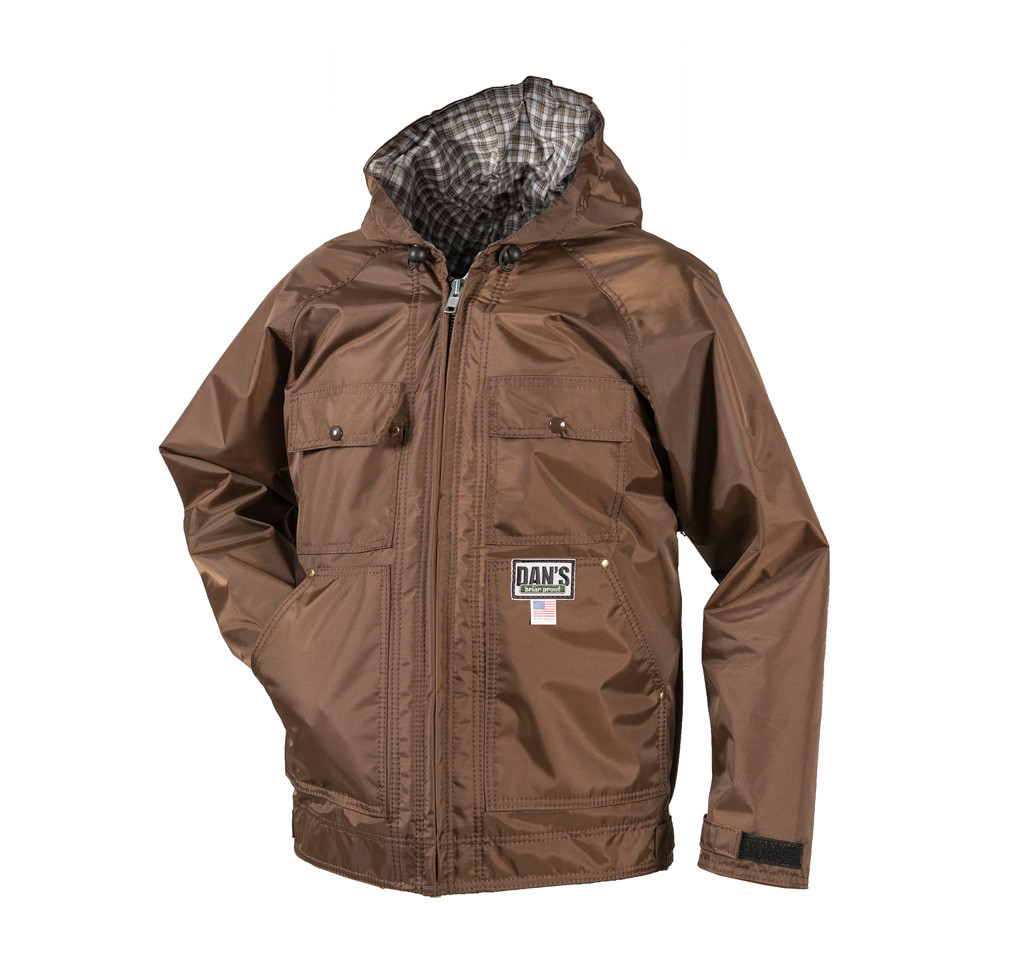 Hooded Sportsman's Choice Briarproof Coat by Dan's Hunting Gear | Circle G Hunting Store