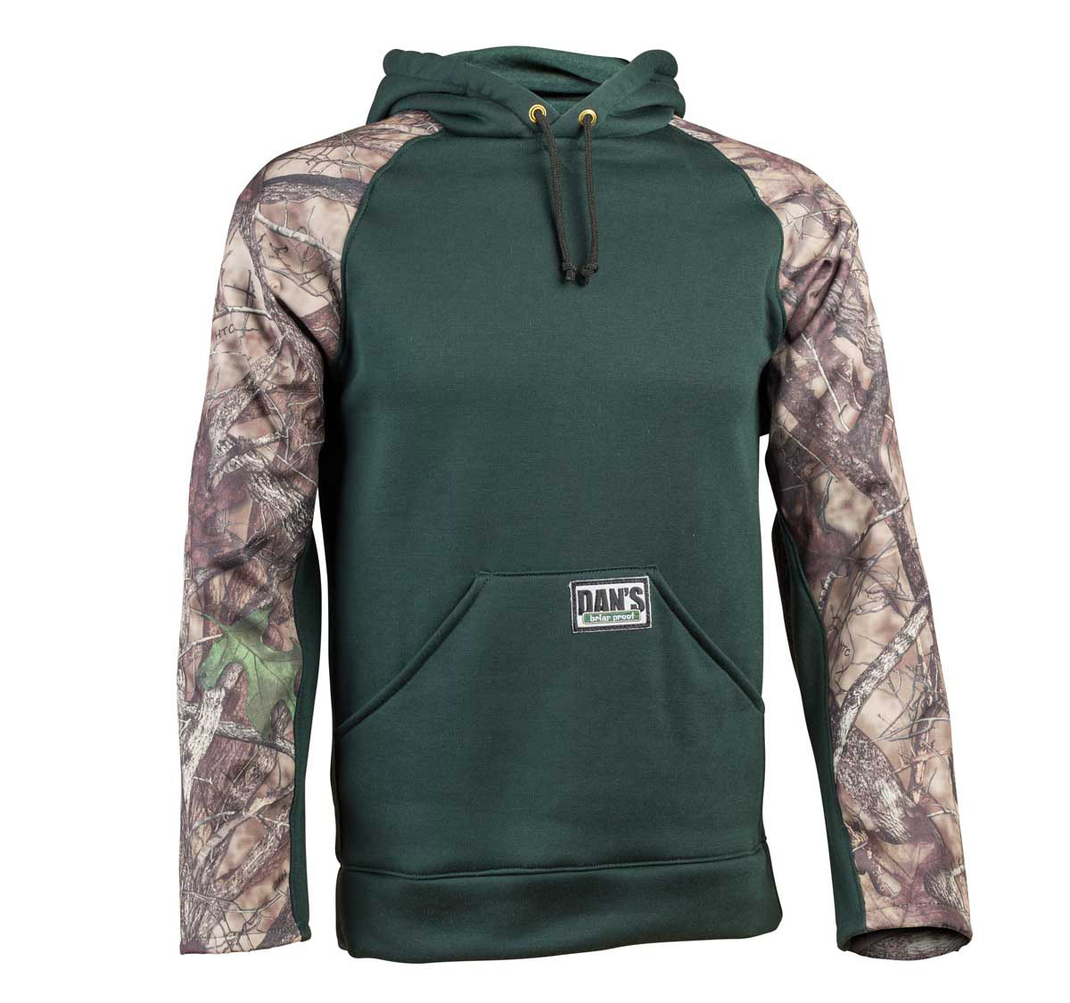 Green/Camo Front Pull-over Briar Hoodie