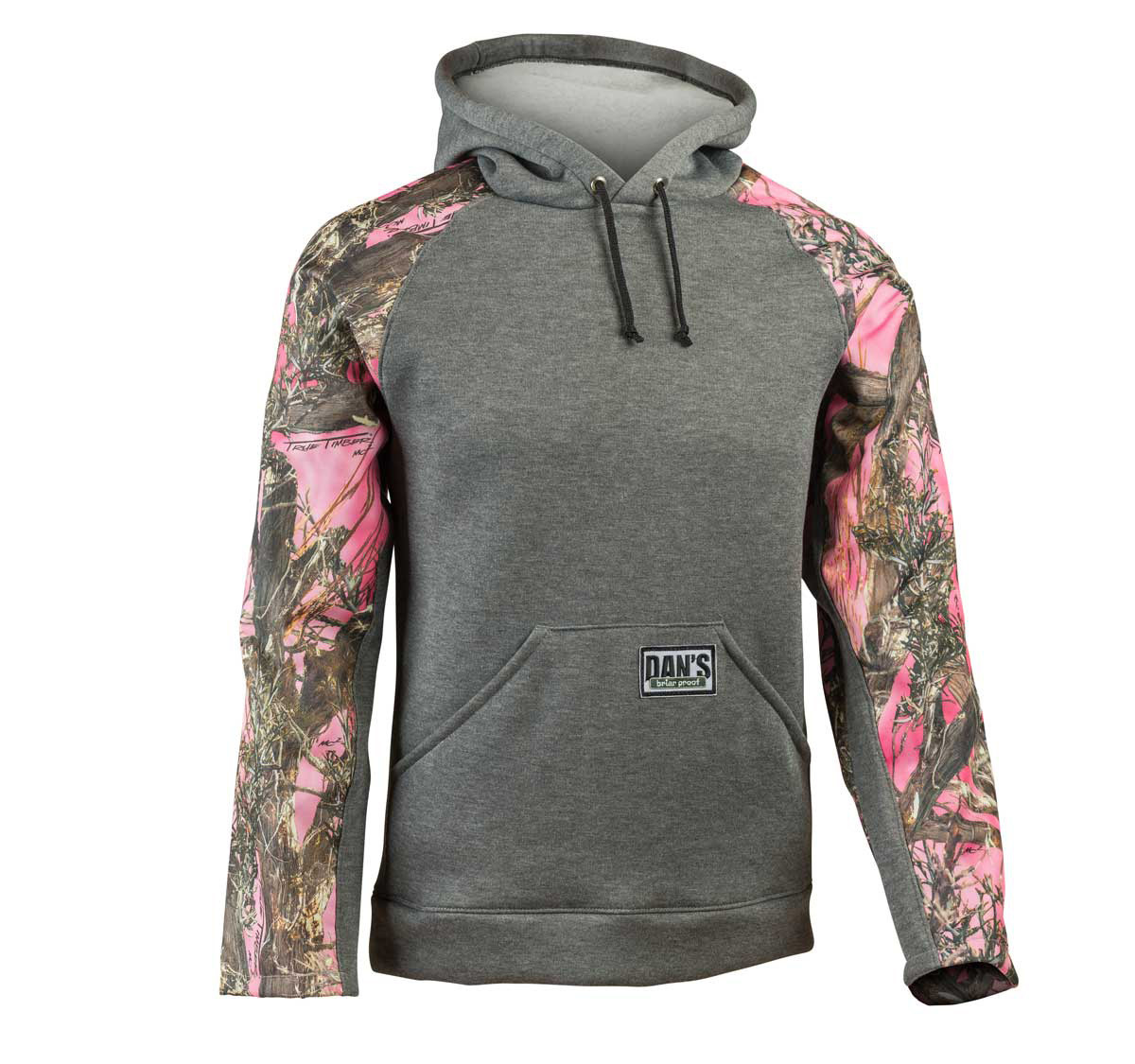 Pink/Camo Pull-over Briar Hoodie