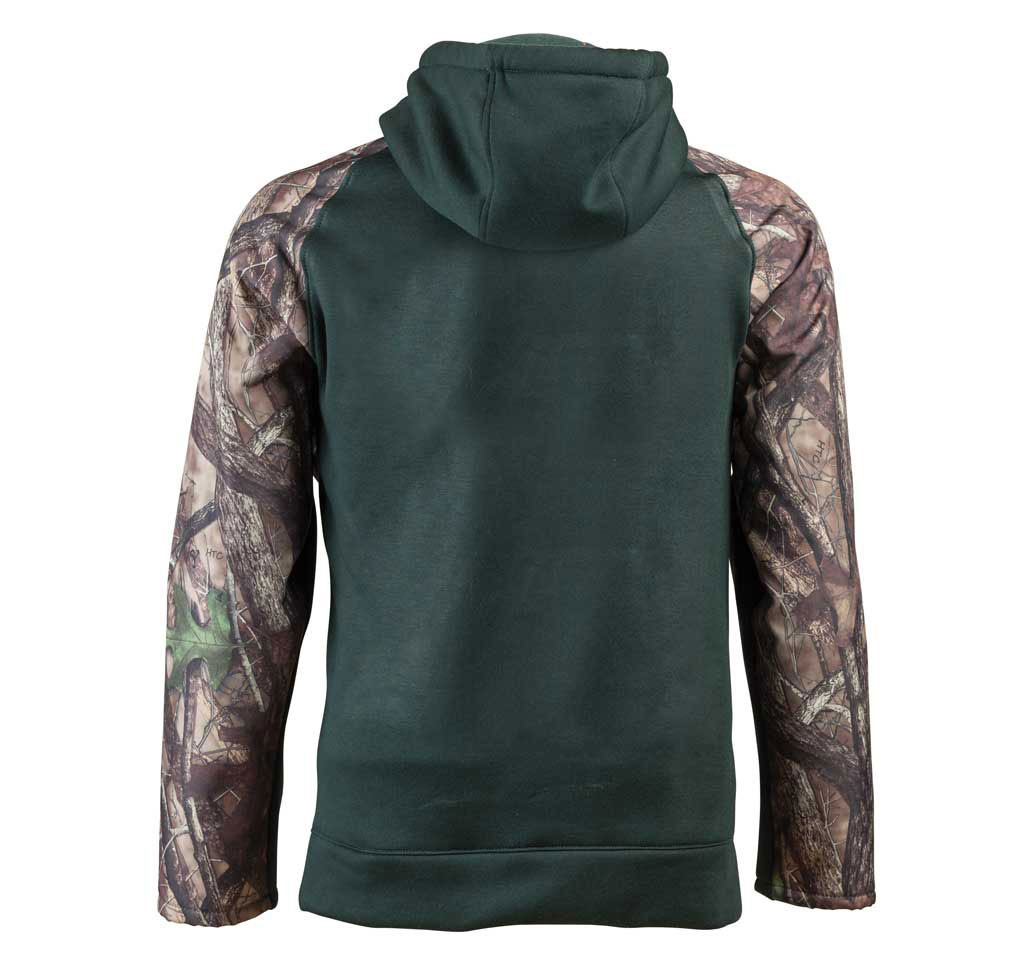 Green/Camo Back Pull-over Briar Hoodie
