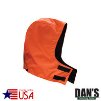orange Detachable Briarproof Hood by Dan's Hunting Gear | Circle G Hunting Store
