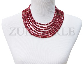 red-rondelle-coral-and-gold-crystal-bead-zuri-perle-handmade-necklace.jpg