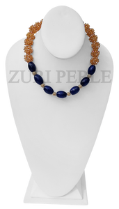RTW4 - Chic Timeless Quality Jewelry Handmade Lapis Necklace Made in America