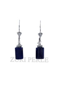 TONI - Women Handcrafted Sodalite Earrings Made in America