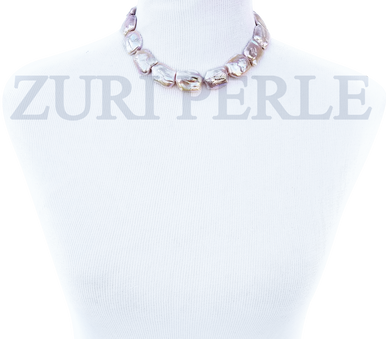 AINA - Women Handcrafted Baroque Pearl Necklace Made in America