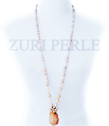 SURU - Women Handcrafted Pearl Necklace Made in America