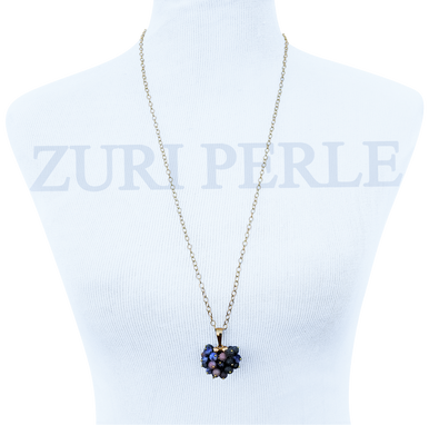 Temi women handcrafted agate pendant necklace made in america women handcrafted agate pendant necklace made in america aloadofball Choice Image