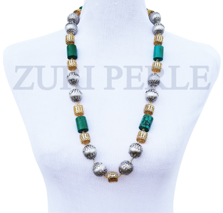 Women Handcrafted Turquoise Necklace Made in America - SIM
