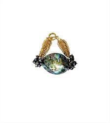 JEJE  - Women Handcrafted Abalone Bracelet Made in America