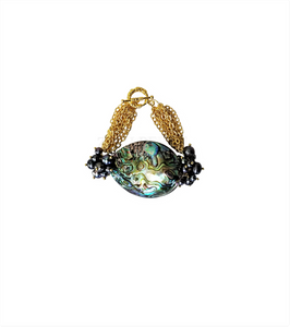 JEJE  - Women Handcrafted Abalone Bracelet Made in America