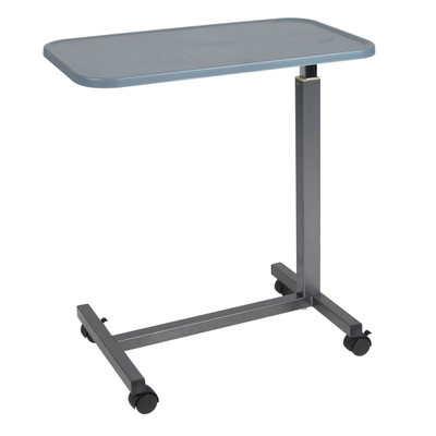 Drive Medical Overbed Table, Plastic Top