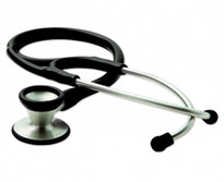 ADC Adscope 602 Cardiology Stethoscope Model 602BK Color Black