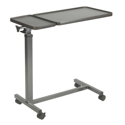 Drive Medical Overbed Table, Double Top