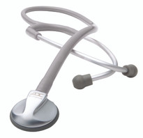 ADC Adscope 641 Platinum Pediatric Stethoscope Model 614G Color Gray