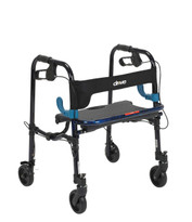 "Drive Medical Clever-Lite Walker, Junior, with 5"" Casters"
