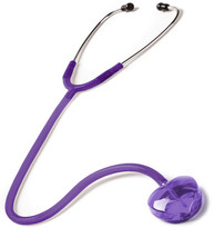 Prestige Medical Clear Sound Stethoscope Heart Edition Model S107-H-F-Pur Color Frosted Purple