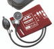 ADC Diagnostix 700 Pocket Aneroid  sphygmomanometer Model 700-11AR Color Red