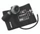 ADC Diagnostix 703 Palm Aneroid Sphygmomanometer Model ADC703-12XBD Color Burgundy