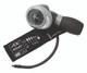 ADC Diagnostix 703 Palm Aneroid Sphygmomanometer Model ADC709-7IBK Color Black