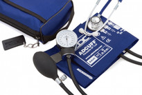 ADC Combo II DH Kit Pocket Aneroid  Sphg With Dual Head Stethoscope ADC768-670-11ARB Color Royal Blue