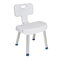 RTL12606Drive Medical Shower Chair with Folding Back