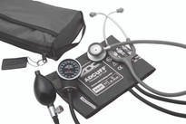 ADC Combo V Kit Pocket Aneroid  Sphg With Clinician Lite Stethoscope Model 728-609BK
