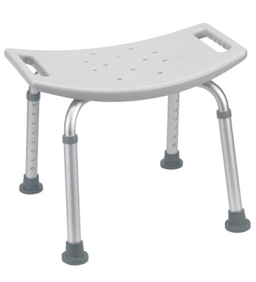 Drive Medical Deluxe Aluminum Shower Bench without Back
