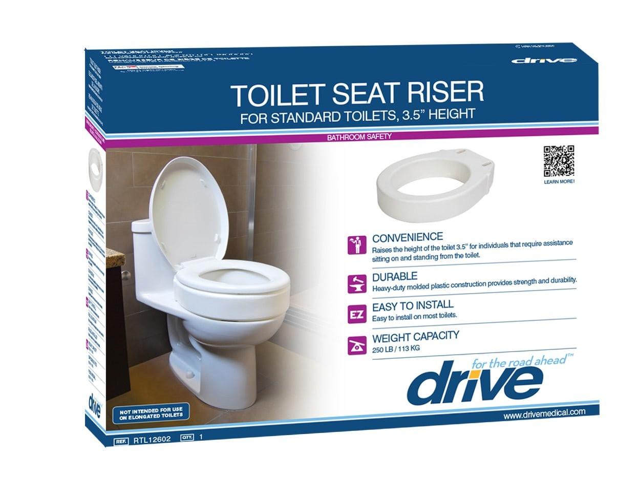 Super Drive Medical Toilet Seat Riser Bralicious Painted Fabric Chair Ideas Braliciousco