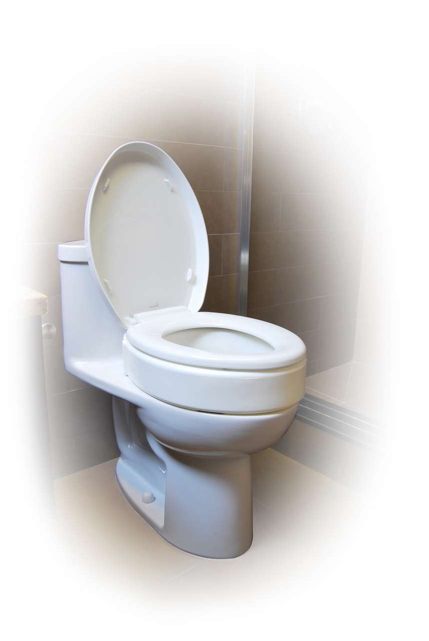Drive Medical Toilet Seat Riser Model Rtl12602 Baron