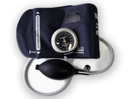 Welch Allyn Silver Series DS45 Integrated Aneroid Gauge rotates 360° for easy viewing and snaps directly into cuff for quick cuff change