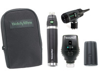 Welch Allyn Diagnostic Set, Lit-Ion Handle With Macro View, Coaxial, Soft Case- Model 97251-MS