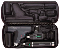 Welch Allyn Diagnostic Set, Lit-Ion Handle With PanOptic, Macro View With Throat and Nasel Illuminator, Hard Case - Model 97110-MPS