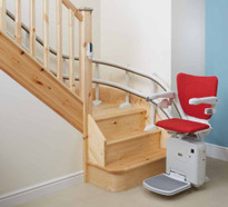 Handicare Custom Curved Starlift Model 2000 With Style Seat