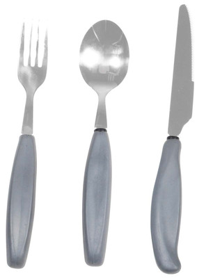 Drive Medical Eating Utensils with Large Grip