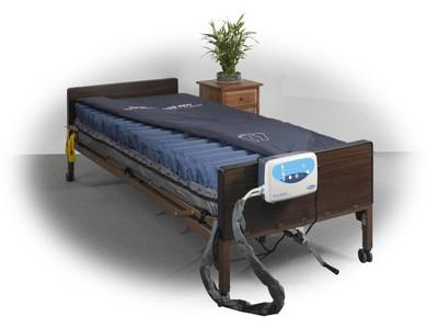 "Drive Medical Masonair AS8800 8"" Alternating Pressure and Low Air Loss Mattress System"