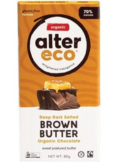 Chocolate Dark Salted Brown Butter- 80g