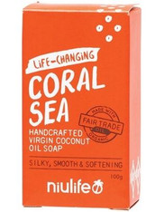 Coconut Oil Soap- Coral Sea (Frangipani Scent)
