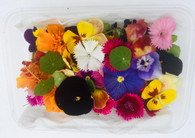 EDIBLE FLOWERS- Punnet *CF
