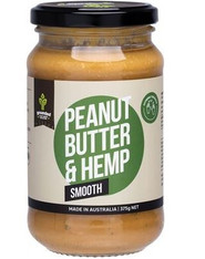 Peanut butter and Hemp- Smooth 375g