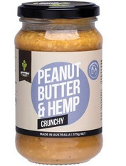 Peanut butter and Hemp- Crunchy 375g