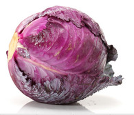 CABBAGE Red- Each (Certified Organic)