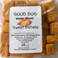 DOG TREATS Sweet Potato- 25 pack (Veggie Patch)