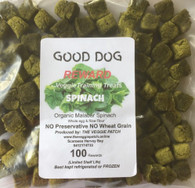 DOG REWARDS Spinach- 100 pack (Veggie Patch)